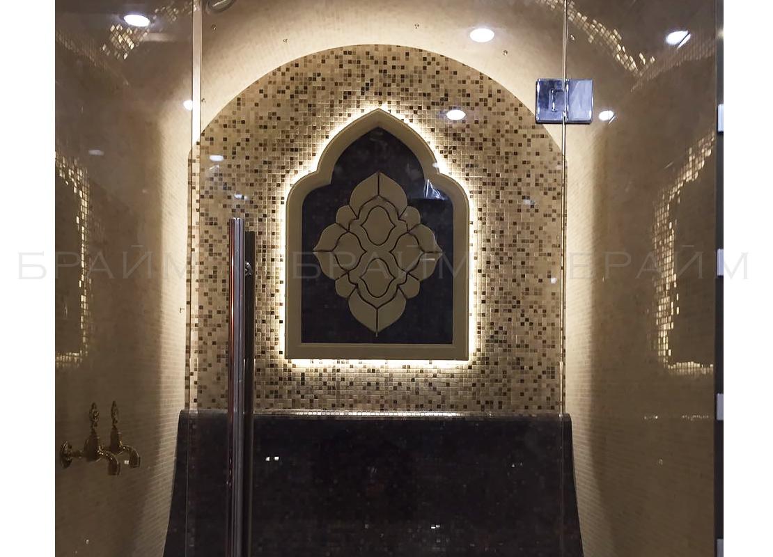 Рамка для орнамента в хамам