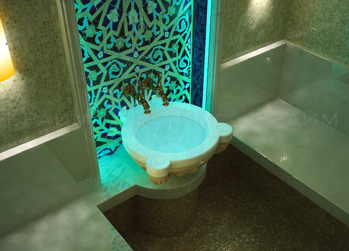 Курна, вид в интерьере хамама